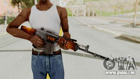 IOFB INSAS Detailed Orange Skin für GTA San Andreas dritten Screenshot
