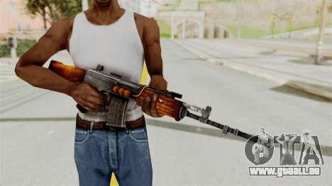 IOFB INSAS Detailed Orange Skin pour GTA San Andreas troisième écran