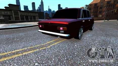 VAZ 21011 Style pour GTA 4 Vue arrière de la gauche