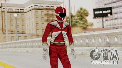 Power Rangers Lightspeed Rescue - Red für GTA San Andreas