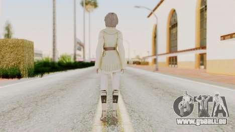 Nora - Final Fantasy XIII für GTA San Andreas dritten Screenshot