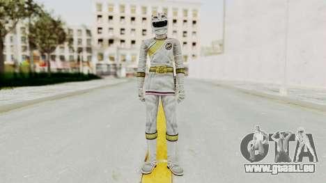 Power Rangers Wild Force - White für GTA San Andreas zweiten Screenshot