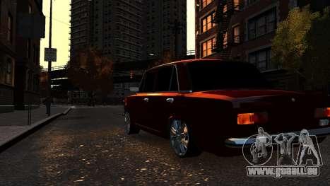 VAZ 21011 Style pour GTA 4 Vue arrière