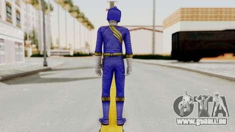 Power Rangers Wild Force - Blue pour GTA San Andreas troisième écran