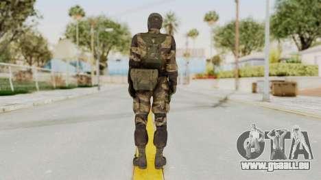 MGSV TPP Diamond Dog Combat Female pour GTA San Andreas troisième écran