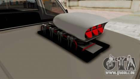 Chevrolet Silverado Classic 1985 Monster Truck pour GTA San Andreas vue intérieure