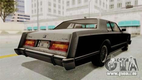 GTA 5 Dundreary Virgo SA Style für GTA San Andreas zurück linke Ansicht