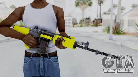 IOFB INSAS Yellow für GTA San Andreas dritten Screenshot
