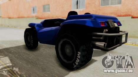 BF Buggy pour GTA San Andreas laissé vue