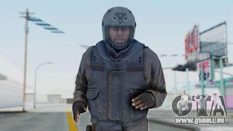 MGSV Phantom Pain Zero Risk Vest v1 pour GTA San Andreas