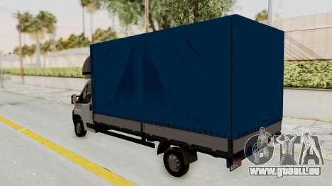 Fiat Ducato Work Van v2 für GTA San Andreas rechten Ansicht
