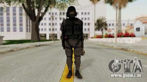 MGSV Phantom Pain Cipher XOF Afghanistan No Mask pour GTA San Andreas deuxième écran