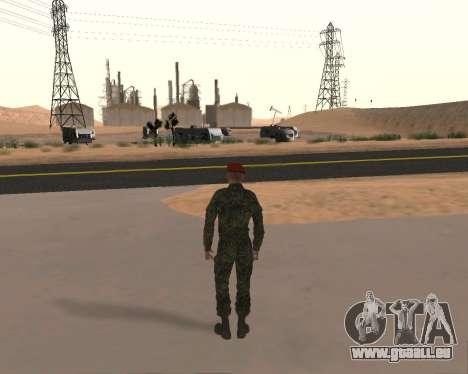 Pak Militaire Russe pour GTA San Andreas septième écran