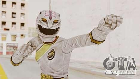 Power Rangers Wild Force - White für GTA San Andreas