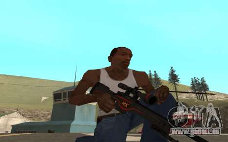 Redline weapon pack pour GTA San Andreas cinquième écran