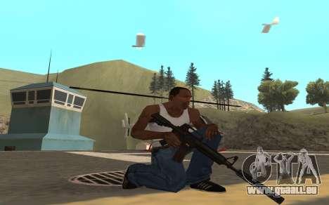 Redline weapon pack pour GTA San Andreas deuxième écran