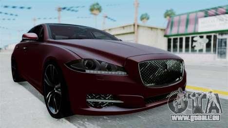 Jaguar XJ 2010 pour GTA San Andreas vue de droite