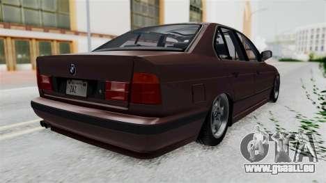BMW 525i E34 1994 SA Plate für GTA San Andreas rechten Ansicht