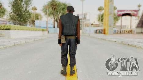 MGSV Phantom Pain Rogue Coyote Commander pour GTA San Andreas troisième écran