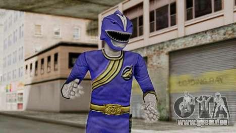 Power Rangers Wild Force - Blue pour GTA San Andreas