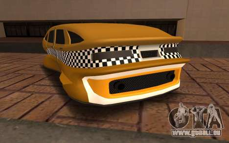 Flying Taxi für GTA San Andreas zurück linke Ansicht
