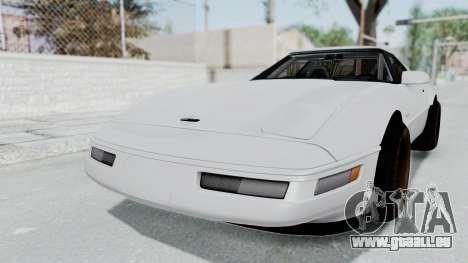 Chevrolet Corvette C4 Drift für GTA San Andreas