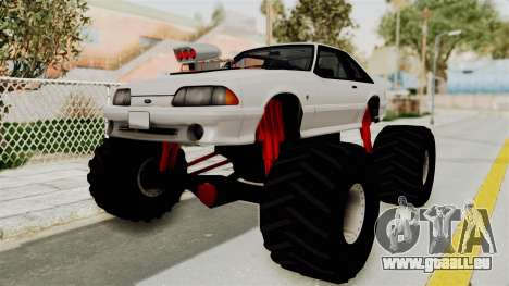 Ford Mustang 1991 Monster Truck pour GTA San Andreas