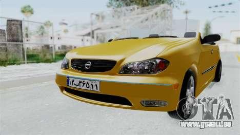 Nissan Maxima Spyder für GTA San Andreas