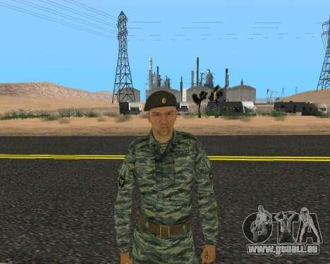 Pak Militaire Russe pour GTA San Andreas neuvième écran