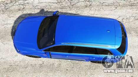 GTA 5 Audi Q7 2015 [rims2] vue arrière
