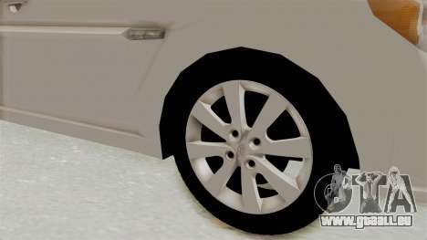 Hyundai Accent Era für GTA San Andreas Rückansicht