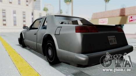 Lumia (Civil Hotring Racer) pour GTA San Andreas laissé vue