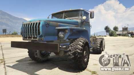Ural-4320 1.2 pour GTA 5