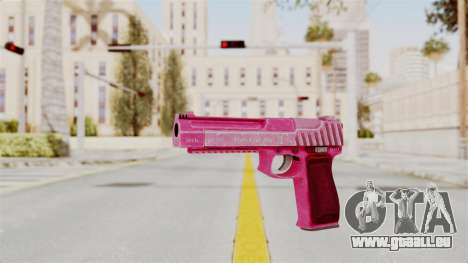 GTA 5 Pistol .50 Pink für GTA San Andreas zweiten Screenshot