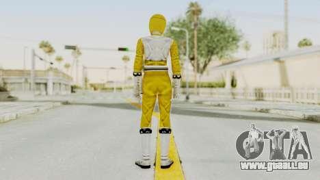 Power Rangers Lost Galaxy - Yellow für GTA San Andreas dritten Screenshot