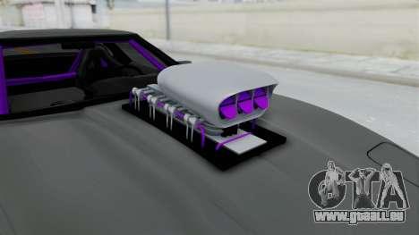 Chevrolet Corvette C4 Drag für GTA San Andreas Rückansicht