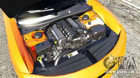 GTA 5 Dodge Charger SRT Hellcat 2015 v1.2 vorne rechts Seitenansicht