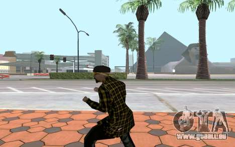 Los Santos Vagos Gang Member pour GTA San Andreas troisième écran