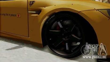 BMW M3 E92 Liberty Walk pour GTA San Andreas vue arrière