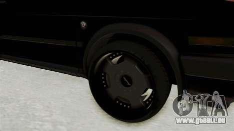 Volkswagen Jetta 2 für GTA San Andreas Rückansicht