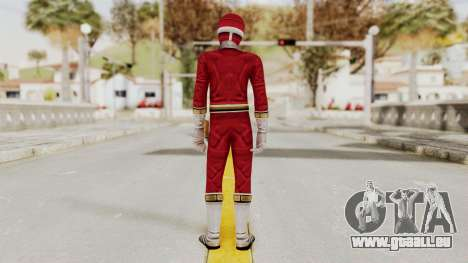 Power Rangers Lightspeed Rescue - Red für GTA San Andreas dritten Screenshot