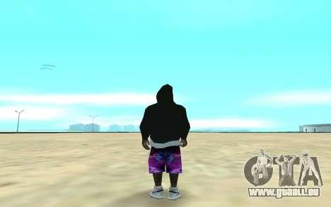 Ballas Gang Member pour GTA San Andreas deuxième écran