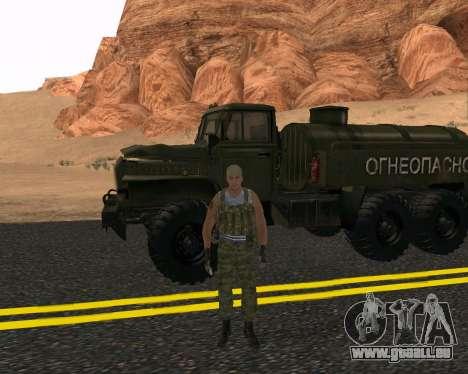 Pak Militaire Russe pour GTA San Andreas troisième écran