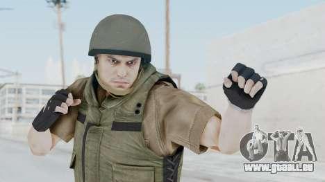 MGSV Phantom Pain CFA Vest v2 pour GTA San Andreas