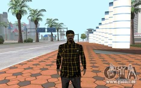 Los Santos Vagos Gang Member für GTA San Andreas