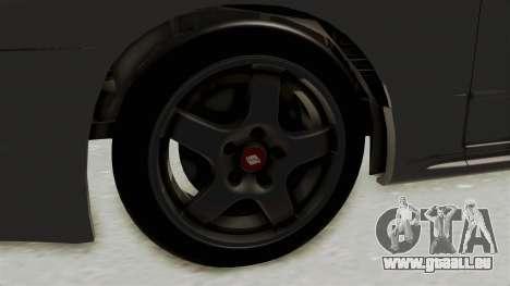 Nissan Skyline R32 4 Door für GTA San Andreas Rückansicht