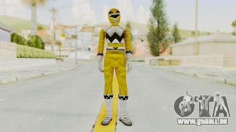 Power Rangers Lost Galaxy - Yellow für GTA San Andreas zweiten Screenshot