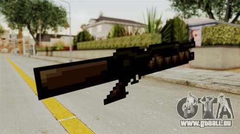 Heavy Machinegun from Metal Slug pour GTA San Andreas deuxième écran