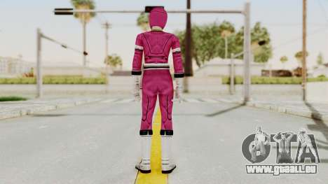 Power Rangers Turbo - Pink für GTA San Andreas dritten Screenshot