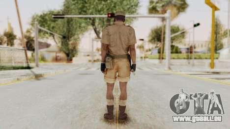 MGSV Phantom Pain CFA Soldier v1 für GTA San Andreas dritten Screenshot